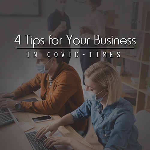 Episode 187: 4 Tips for Your Business in COVID Times